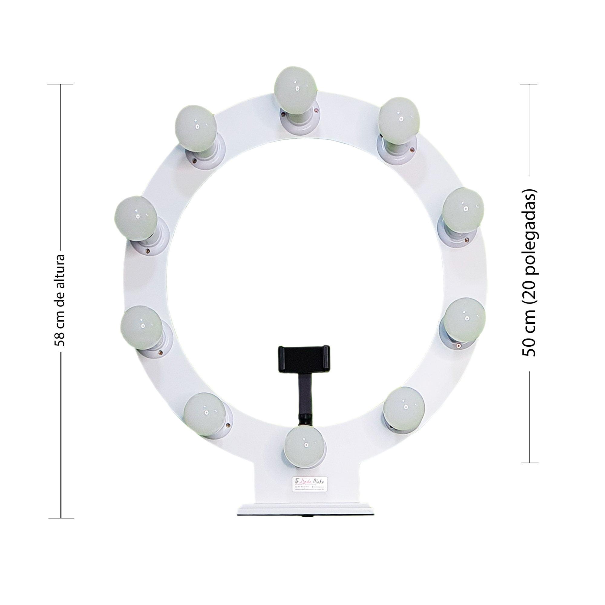 Ring Light 50CM 10 Soquetes