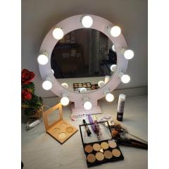 Ring Light Mesa Com Espelho